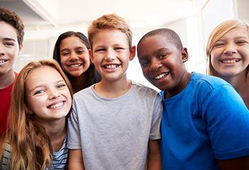 Smiling Children Faces